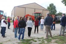 Professional Development Tour on Farm